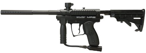 Double Trigger Paintball Guns - Spyder MR100 PRO Semi-Auto Paintball Marker (Diamond/Black)