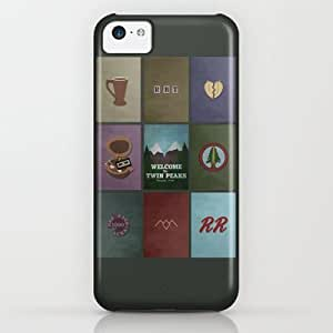 Society6 - Twin Peaks Colors iPhone & iPod Case by Justin Cybulski