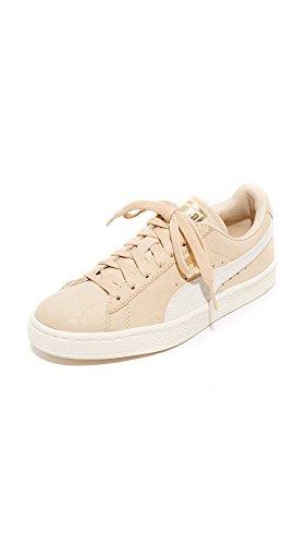Bianco Donne Oro Da Delle 7 Puma Whisper Scarpe B Classici Brillare m Ginnastica Naturale Ci Camoscio 4YgwSqv1n
