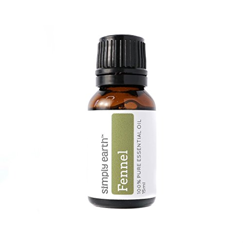 Simply Earth Fennel Essential Oil 15 ml, 100% Pure Therapeutic Grade