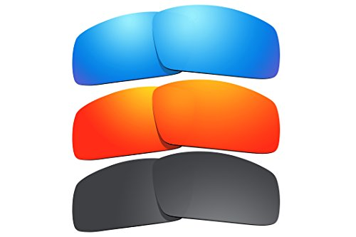3 Pairs Pack Polarized Sunglasses Lenses Replacement for Oakley Canteen (2006) - 2006 Sunglasses