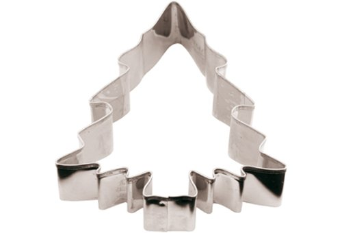 Paderno 47413-08 Christmas Tree Cookie Cutters Stainless Steel