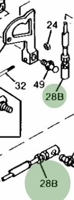 John Deere Original Equipment Push Pull Cable #AM120869