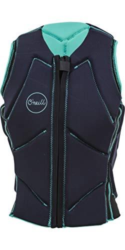 O'Neill Womens Slasher B Comp Watersports Waterski Jetski Wakeboarding Safety Impact Vest – Top Seaglass Abyss