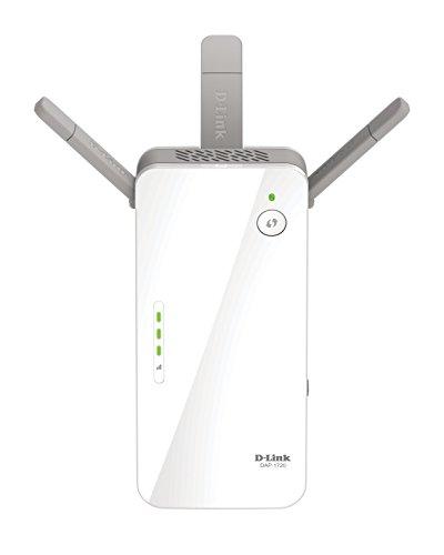 D-Link AC1750 Wi-Fi Range Extender, White