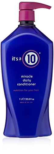 - It's a 10 Haircare Miracle Daily Conditioner, 33.80 fl. oz.
