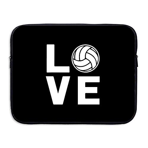 Laptop Sleeve Case Love Volleyball Neoprene Laptop Case 13-15 Inch for Dell/Ausu/ Acer/HP/ - Laptop Skin Volleyball