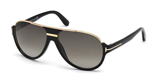 Tom Ford 0334S 01P Black/Gold Dimitry Pilot Sunglasses Lens Category 3 Lens ()