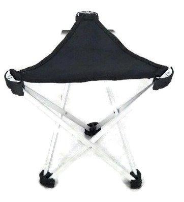 Taburete de tres patas para, de 3patas Taburete–Silla de camping Tres Patas taburete de 28cm asiento altura handliche 275g ligeramente, plegable, alumi