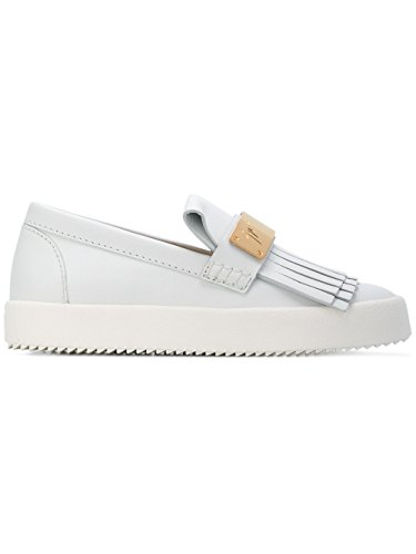 RS7028003 Bianco MC ZANOTTI On DESIGN GIUSEPPE Sneakers Donna Pelle Slip xqYzB6n6a