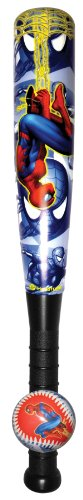 Hedstrom Spider-Man 4 Foam Bat/Ball Set- 21""