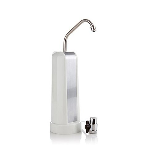PureBlueH2O D-AZ-P35W  Countertop Water Filter, White Finish