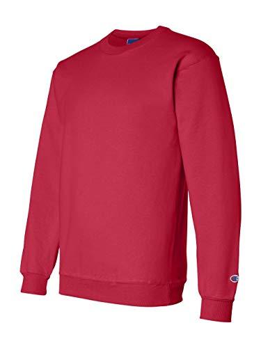 Pullover Sweatshirt Scarlet (Champion S600 Eco Crewneck Sweatshirt - Scarlet, 3XL)
