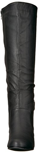 Brinley Co Womens Jimmi Engineer Boot Regular E Wide Black Vitello