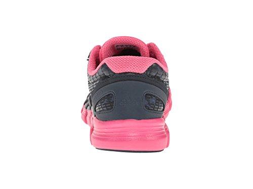 adidas Running Women's Adipure Crazy Quick Night Shade/Carbon Metallic/Bahia Pink Sneaker 11.5 B (M)