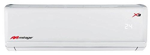 Minisplit Mirage X3 1.5 toneladas, 18,000 BTUs, Frío y Calor 220V, Blanco
