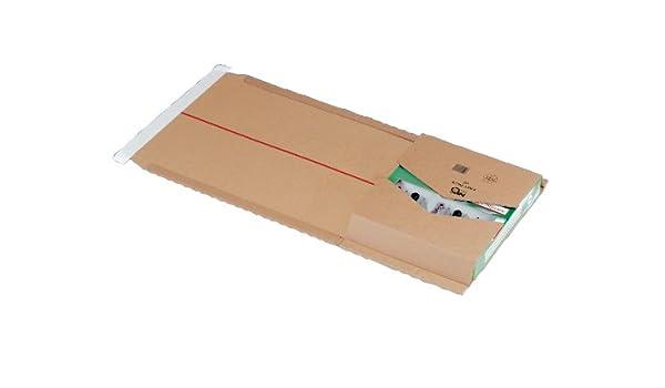 Nips 145625114 Easy Pack 62-25 Estuches de cartón para envío, 257 x 325 x hasta 80 mm, color marrón: Amazon.es: Oficina y papelería