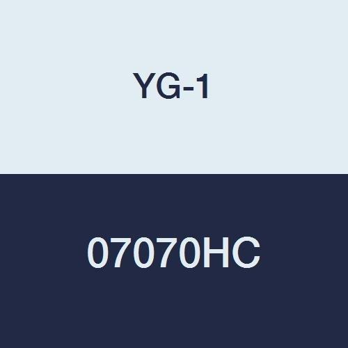 4 Flute 2-11//16 Length 1//2 Center Cutting TiCN Finish Regular Length YG-1 07070HC HSS End Mill