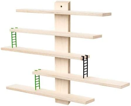 Ikea LUSTIGT - Estantería de pared (37 x 37 cm): Amazon.es: Hogar