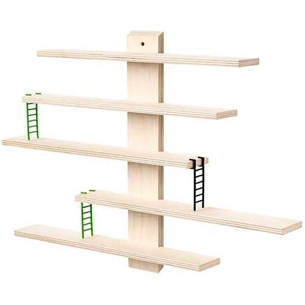 Ikea LUSTIGT - Estantería de pared (37 x 37 cm): Amazon.es ...