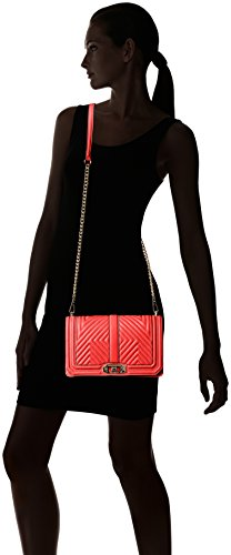 Minkoff Shoulder Body Love Geo Quilted Cross Dragon Fruit Bag Rebecca pnwRAqPdP