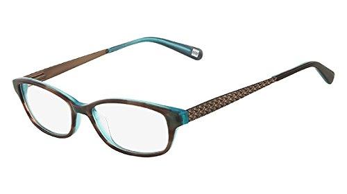 NINE WEST Eyeglasses NW8000 031 Grey Blue H0rn 51MM