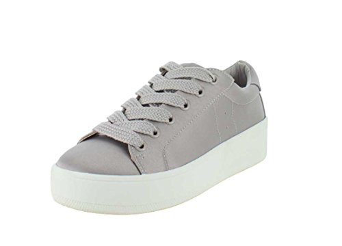 Steve Madden Womens Bertie-s Fashion Sneaker Grijs