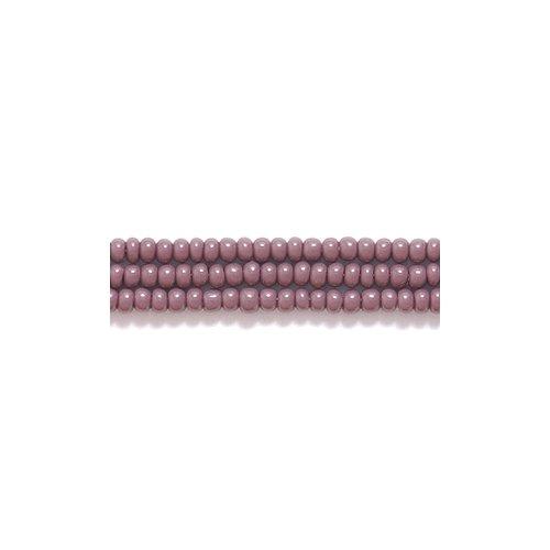 Preciosa Ornela Czech Seed Bead, Opaque Dark Purple, Size 11/0