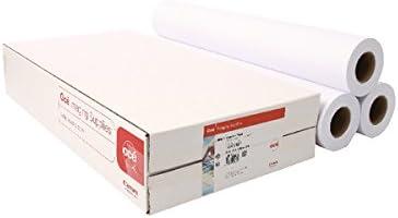 Canon IJM021 91,4 cm 91 m - Papel para plotter (91,4 cm, 91 m, 90 g/m², 92%, 20-80%, 10-30 °C): Amazon.es: Oficina y papelería