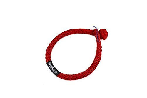 Standard Size Tactical Recovery Equipment Red Soft Shackle
