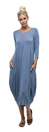 Tabeez Womens Casual Sleeve Oversized product image