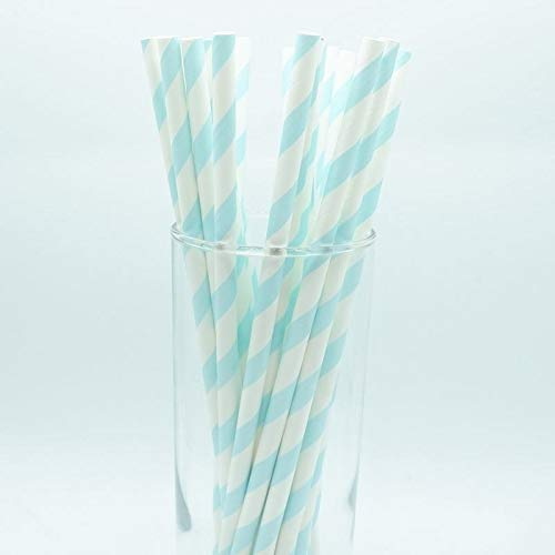 1 lot 25pcs Foil Gold/Silver Disposable Drinking Paper Straws Rainbow Cake Flags For Birthday Wedding Decorative Party Event ()