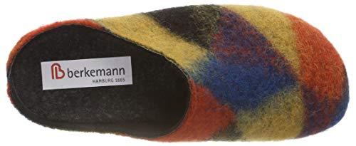 Fabia abstrakt Mujer Berkemann Por 543 Estar multicolor Para Multicolor Casa Zapatillas De dwnqqxOCv