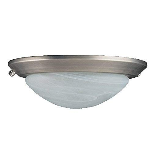 Concord Fans Y-260A-S-SN Lightkit 2 Low Profile Fan Light Kit, Satin Nickel (Concord Glass Bowls)