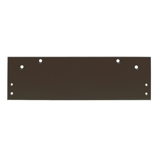 Global Door Controls DP-1006-DU Series 600 Door Closer Drop Plate In Duronotic