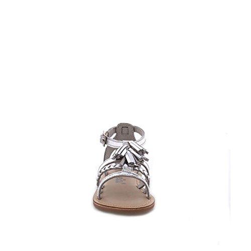 Cheiw Unisex-Kinder 47116 Sandalen Napa plata