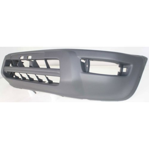 Front Bumper Cover Compatible with 1998-2000 Toyota RAV4 Textured with Fender Flare Type