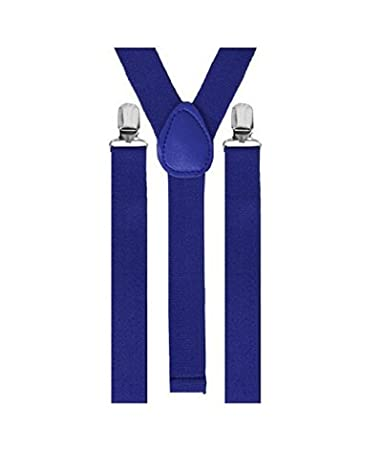 josep H regolabile Bretelle donna uomo 3/clip y-forma Blue