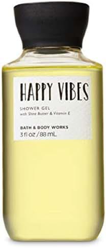 Bath Body Works Shea & Vitamin E Shower Gel Happy Vibes 3oz Travel