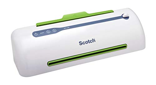 Scotch PRO Thermal Laminator, Never Jam Technology Automatically Prevents Misfed Items , 2 Roller System (TL906) ()
