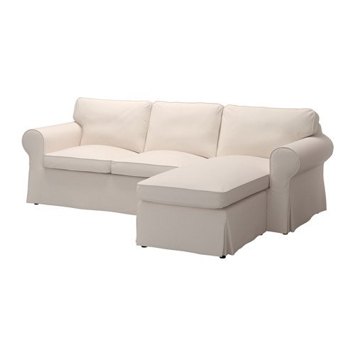 Amazon.com: Ikea Cover for 3-seat sectional, Lofallet beige ...