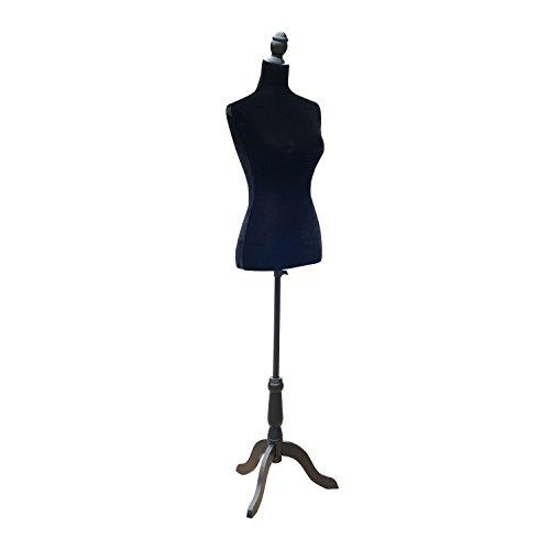 HOMCOM Fashion Mannequin Female Dress Form with Base, 35