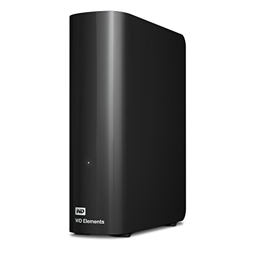 WD Elements Desktop - Disco duro externo de sobremesa de 4 TB, color negro