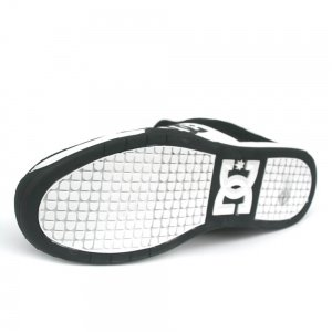 DC Shoes DC SHOES Smith Blk/Wht taille 40, Herren Skateboardschuhe