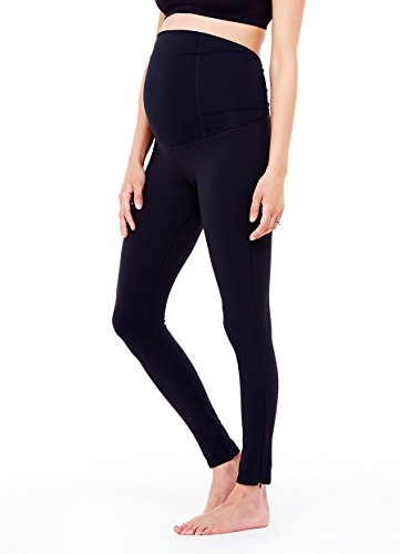 Ingrid & Isabel Womens Maternity Activewear – Active Legging With Crossover Panel