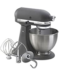 New Made USA Kitchenaid Ultra Power Ksm95gr 10 Speed Stand Mixer 4 5 Quart Grey One Day Shipping Good Gift Fast Shipping