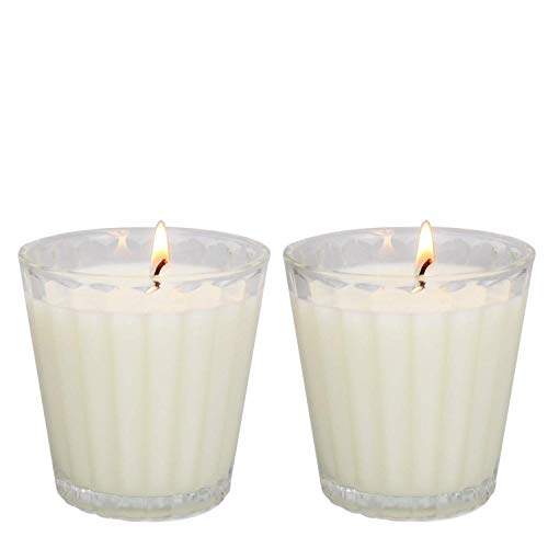 YIHANG Citronella Candles Scented, Giant 1lb Natural Soy Wax, Glass Jar 4 oz, 25-30 Hour Burn, Natural Mosquito Repels, Outdoor Indoor