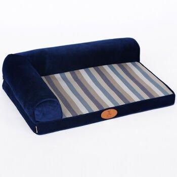 L-12059 KAI Dog Mat Dog Beds Cat Beds Stripe washable kennel dog bed,L-12059