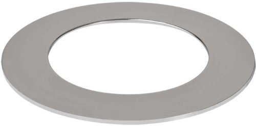HALO Recessed TRM400PC 4-Inch LED Accessory Slim Ring, Polished Chrome