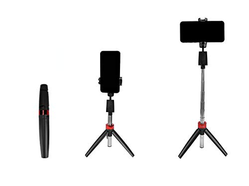 Simpex MA 3333 Selfie Stick with Integrated Tripod Bluetooth Enabled, Compatible with All Smartphpnes